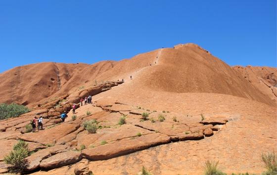 Uluru_1 besteigen