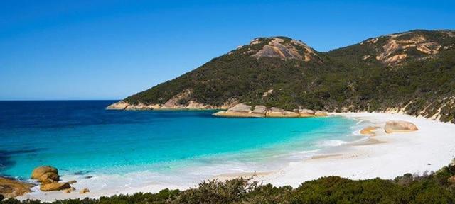 Strände in Australien Two peoples bay