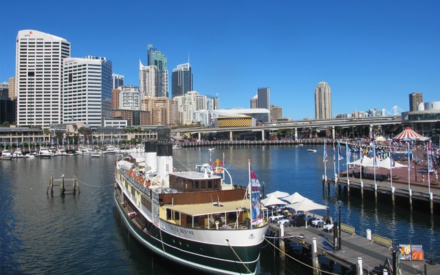 Sehenswuerdigkeiten in Sydney Darling-Harbour