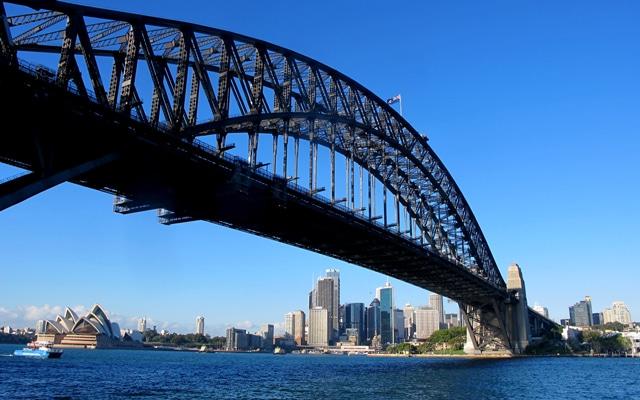 Sehenswuerdigkeiten in Sydney Harbour Bridge