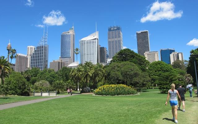 Sehenswuerdigkeiten in Sydney Royal botanical garden