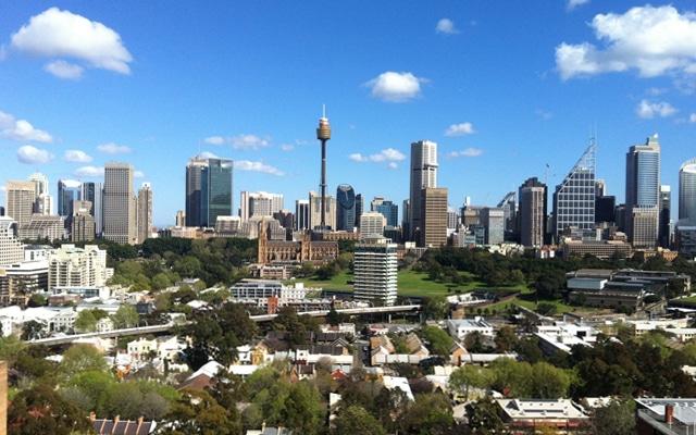 Sehenswuerdigkeiten in Sydney tower